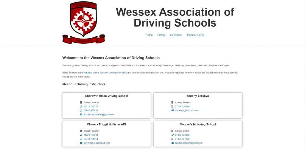 Wessex Association of Driving Schools Home Page