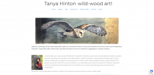 Tanya Hinton wild-wood art! home page