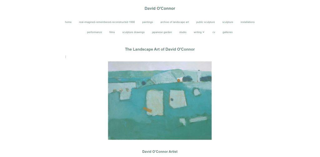 David O'Connor Home Page