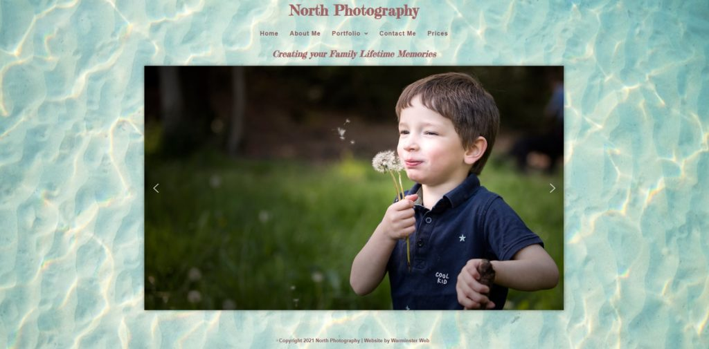 North Photography Website